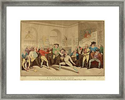 After Thomas Rowlandson Framed Print by Litz Collection