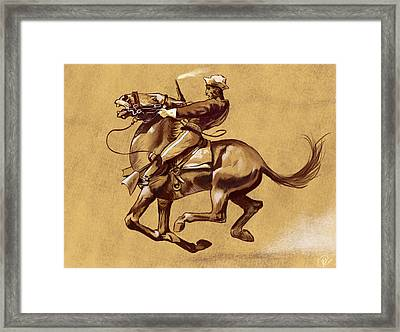 After Ugly Oh The Wild Charge He Made Framed Print