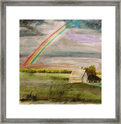 After Warm Rain Framed Print by John Williams