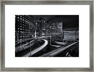 After Work Framed Print