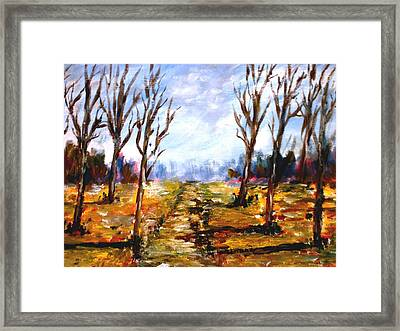 Afterblown Forrest Framed Print by Constantinos Charalampopoulos