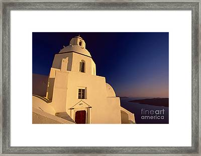 Afterglow Framed Print by Aiolos Greek Collections