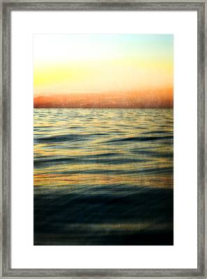 Afterglow Framed Print by Michelle Calkins