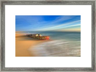 Aftermath - A Tranquil Moments Landscape Framed Print by Dan Carmichael