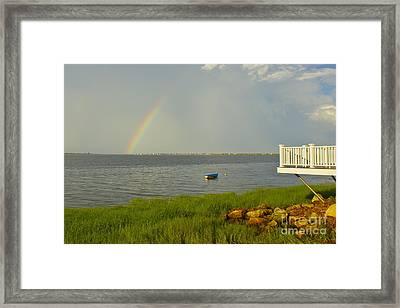 Framed Print featuring the photograph Aftermath by Alice Mainville