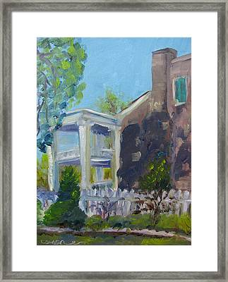 Afternoon At Carnton Plantation Framed Print by Susan E Jones