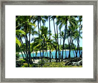 Afternoon At Kakaha Kai Framed Print