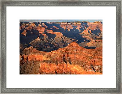Afternoon At Mather Point Framed Print by Adam Jewell