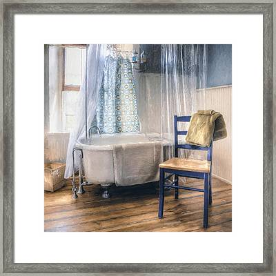 Afternoon Bath Framed Print by Scott Norris