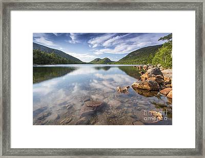 Afternoon By The Pond Framed Print