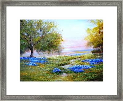 Afternoon Contemplation Framed Print