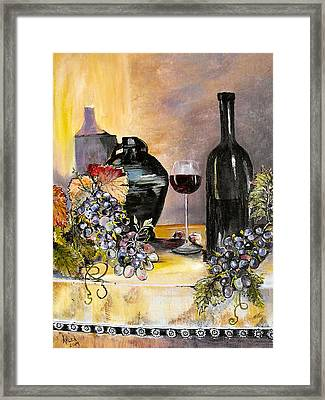 Afternoon Delight Framed Print by Arlen Avernian Thorensen