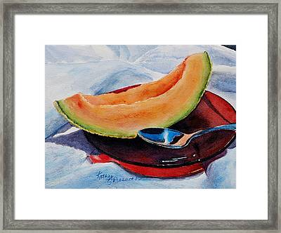 Afternoon Delight Framed Print by Kathy Nesseth