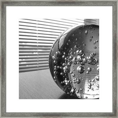 Afternoon Distraction Framed Print