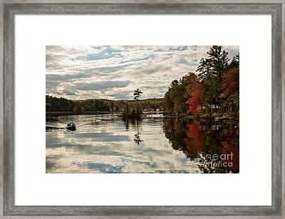 Afternoon Fishing Trip Framed Print by Brenda Giasson