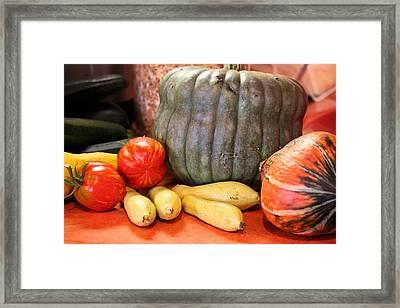 Afternoon Harvest Framed Print