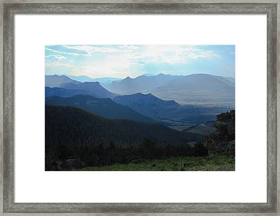 Afternoon Haze Framed Print