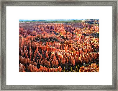 Afternoon Hoodoos Framed Print by Robert Bales