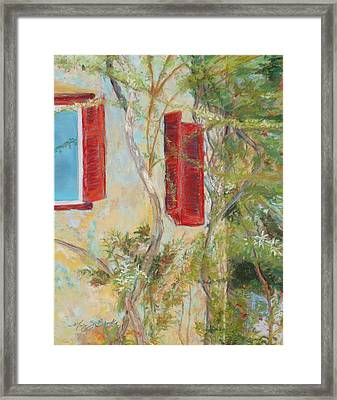 Afternoon In Athens Framed Print