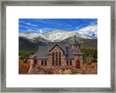 Afternoon Mass Framed Print by Darren  White