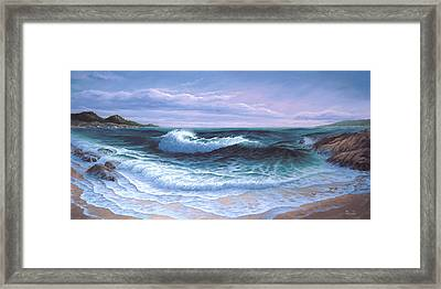Afternoon On Carmel Bay Framed Print