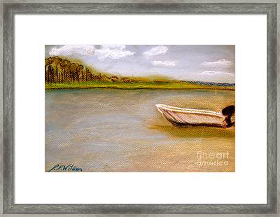 Tybee Island Afternoon On Alley 3 Framed Print