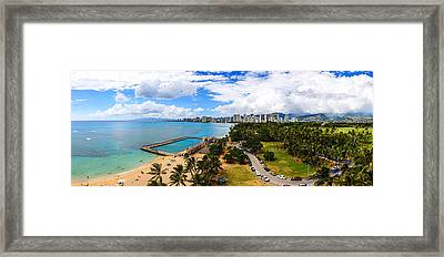 Afternoon On Waikiki Framed Print