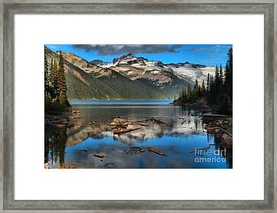 Afternoon Reflections In Garibaldi Framed Print by Adam Jewell