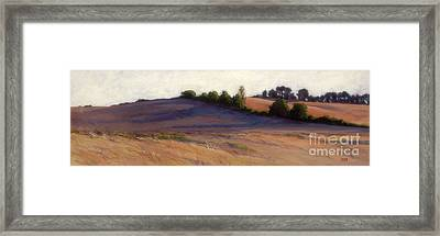 Afternoon Shadows - Airlie Road Framed Print