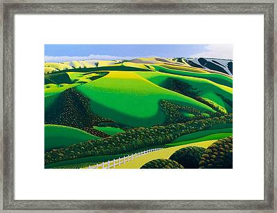 Afternoon Shadows Framed Print by Michael Wicksted