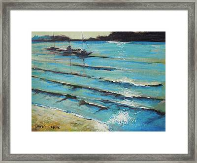Afternoon Shoreline Framed Print