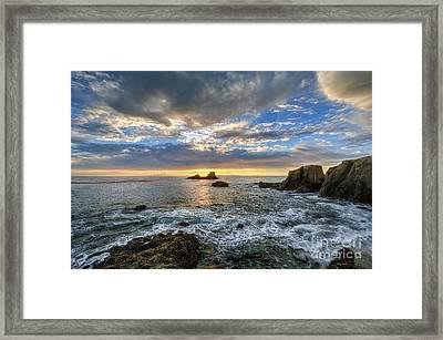 Afternoon Sky In Laguna Beach Framed Print