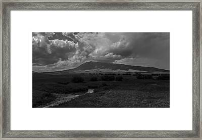 Afternoon Storm Framed Print