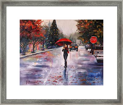 Afternoon Stroll Framed Print by Jennifer Beaudet