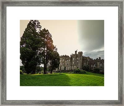 Afternoon Sun Over Markree Castle Framed Print