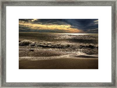 Framed Print featuring the photograph Afternoon Swell by Julis Simo