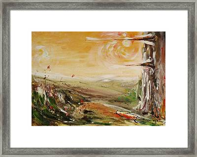 Afternoon Framed Print by Tanya Byrd