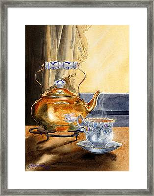 Afternoon Tea Framed Print