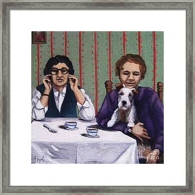Afternoon Tea Framed Print by Linda Apple