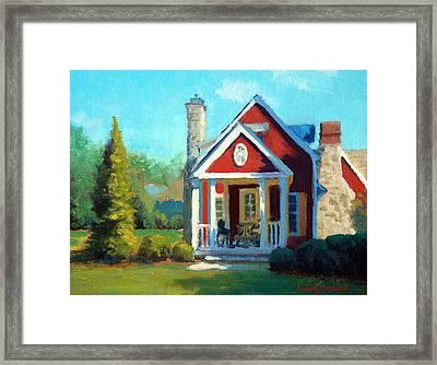 Afternoon The Gameskeeper Cottage Framed Print