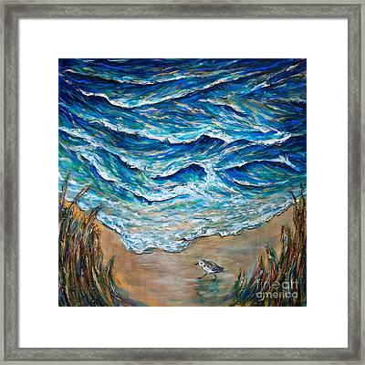 Afternoon Tide Framed Print