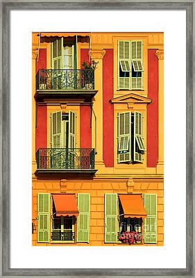 Afternoon Windows Framed Print by Inge Johnsson