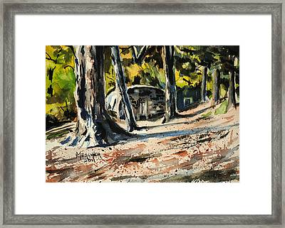 Afternoons Long Shadows Framed Print by Spencer Meagher