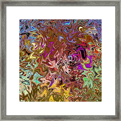 Aftershock 8.7 - Original Digital Art Image Framed Print