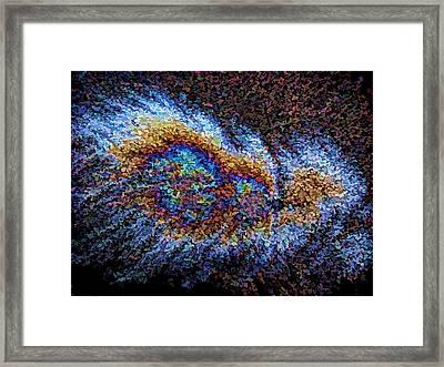 Aftershock Framed Print