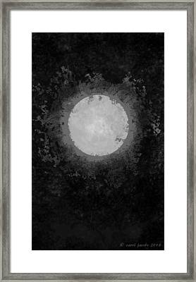 Framed Print featuring the drawing Afterward by Carol Jacobs