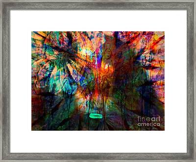 Again Innocene In Madness Framed Print by Fania Simon