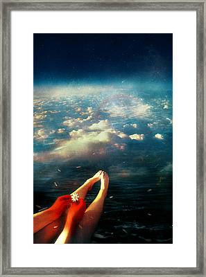 Again Framed Print