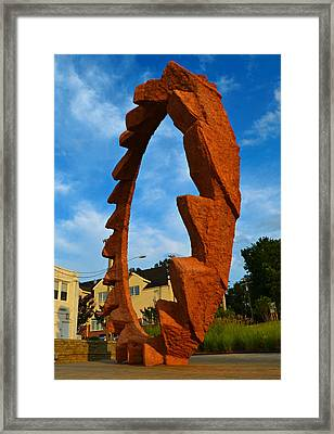 Against The Grain Framed Print by Amber Summerow