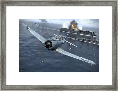 Against The Odds Framed Print by Robert Perry